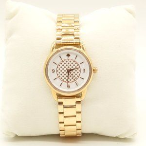NWT KATE SPADE Boathouse Watch Stainless Steel